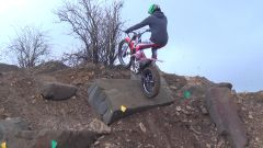 Tom Culliford 2015 Beta Evo 125cc - Rock section video with slow motion & freeze frame shots