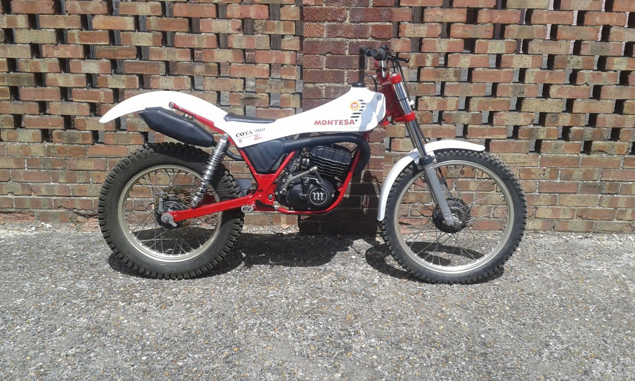 Twinshock trials bikes