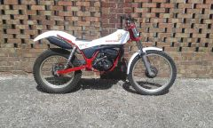 Twinshock trials bikes