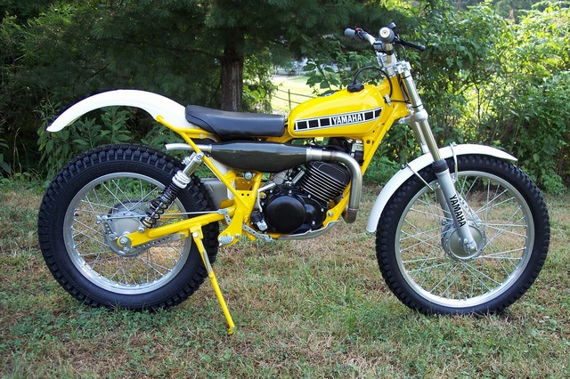 Before And After Photos Of My Modified 76 Ty175 Yamaha
