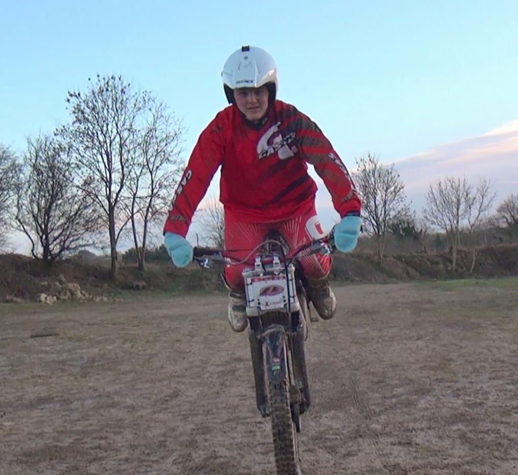 Joe Beale Riding Silky Smooth on his Beta Evo 125cc