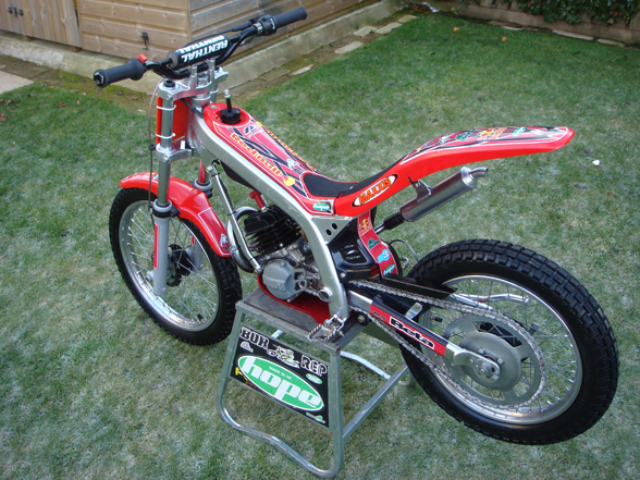 Beta mini trial 50 (2004) - TC Garage - Trials Central