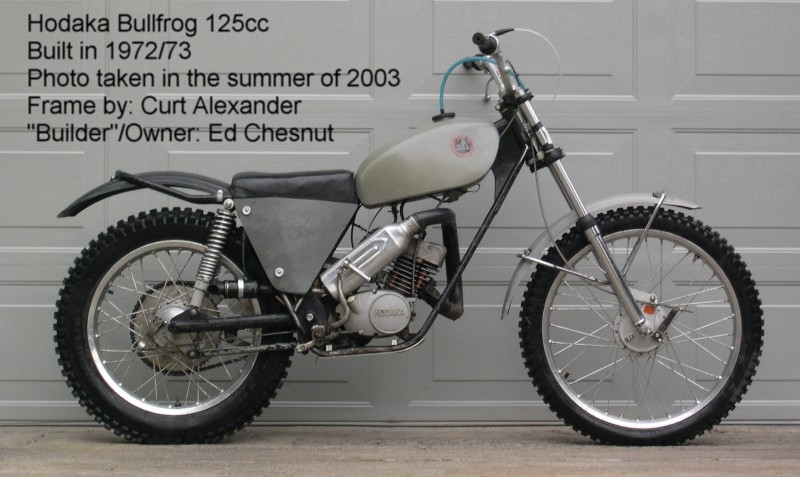 Hodaka Bullfrog 125, double downtube frame.jpg