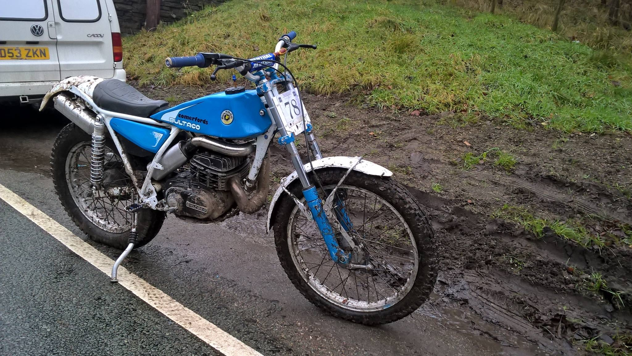 199b 340 Exhaust front pipe  - Bultaco - Trials Central