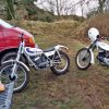 Trial at Burrycliffe quarry