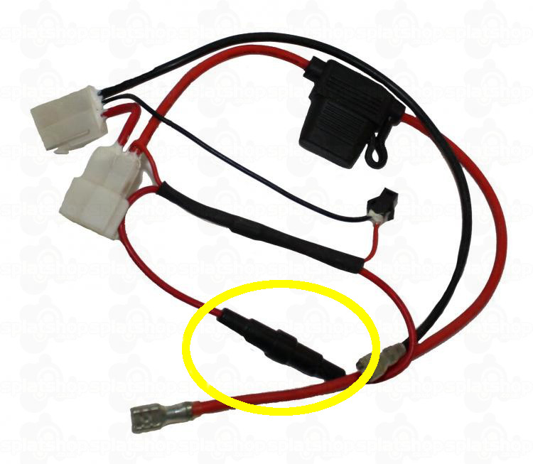 can you identify this on the wiring harness please? oset electric motorcycle wiring diagram oset wiring harness highlighted jpg