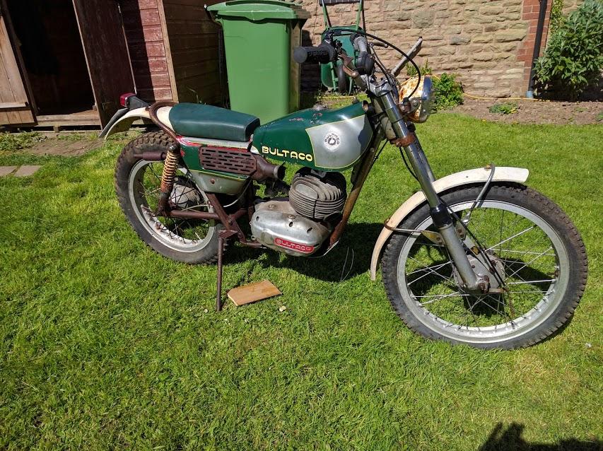 Bultaco Model 27 - Bultaco - Trials Central