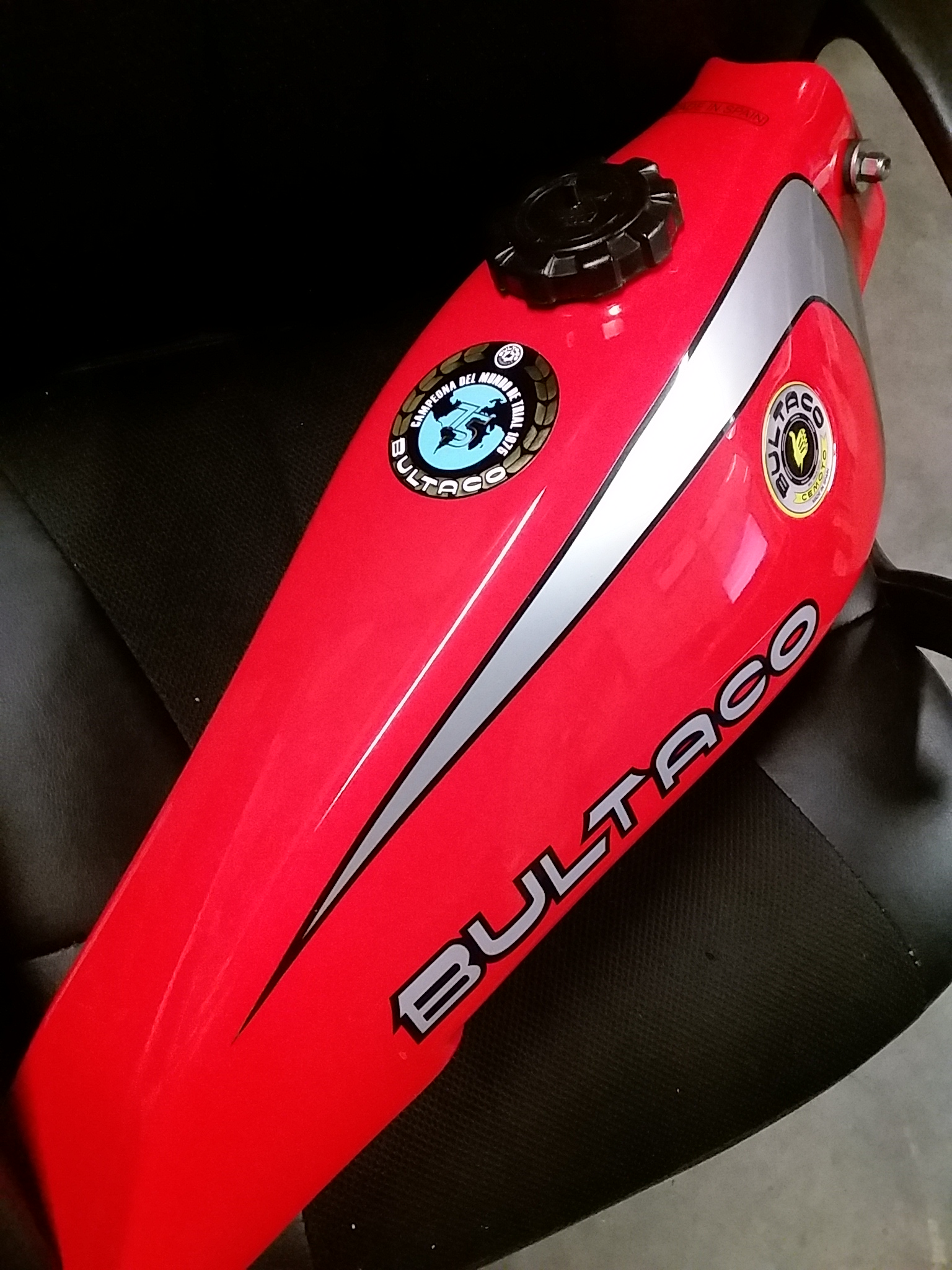 Placement of stickers/decals - Bultaco - Trials Central