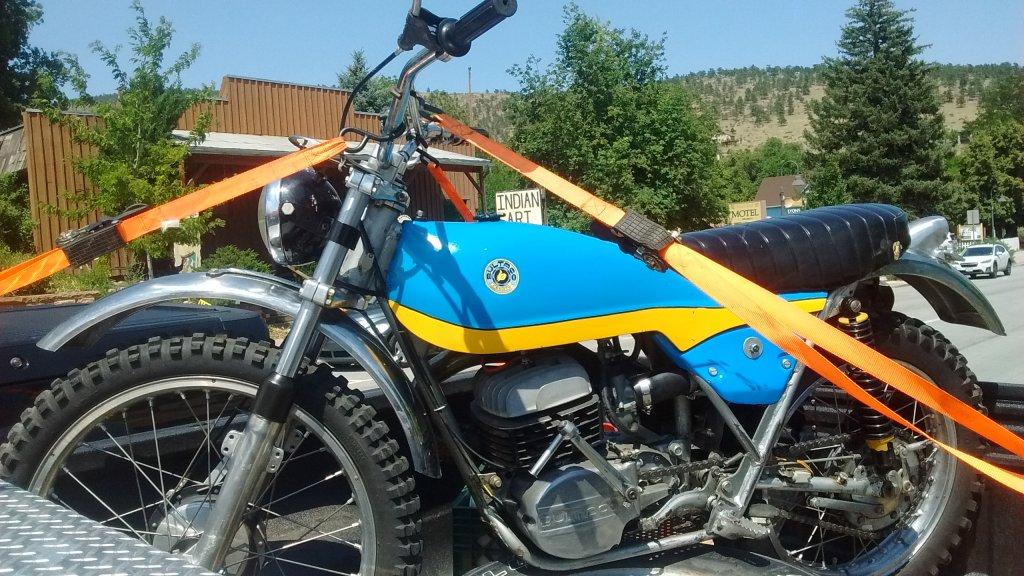 New To Me 73 Alpina 350  No Spark - Bultaco