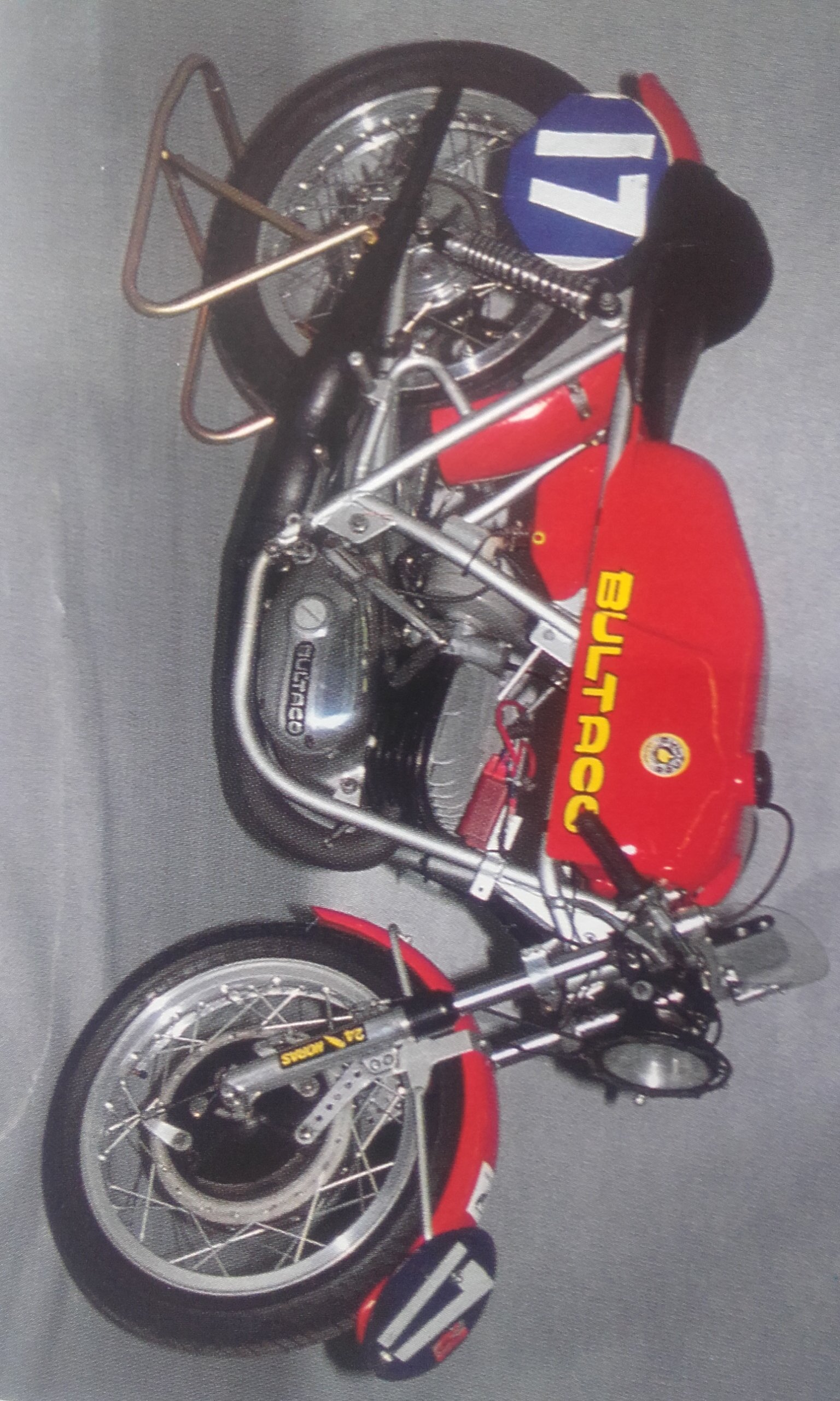 what bultaco engine used in this racer - Bultaco - Trials