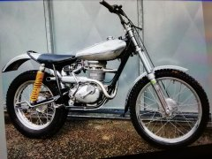 BSA 250 trials Mike mills , Steve gagg built ????