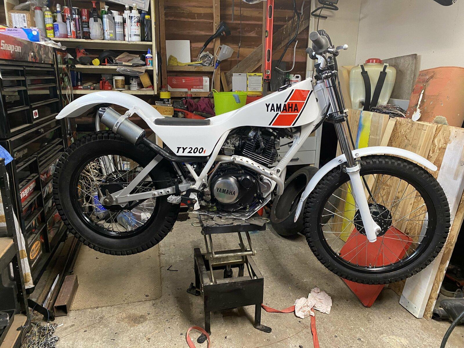 4t Yamaha 200 build.