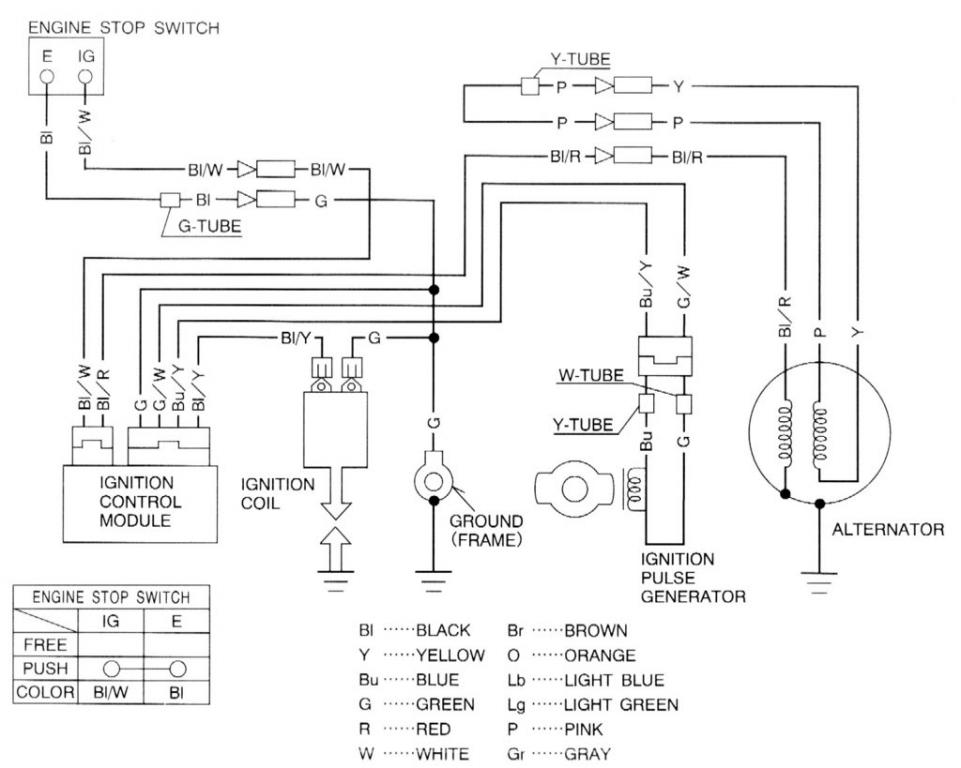 honda obd0 wiring diagram alternator