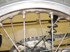 Bultaco 159 rear wheel 002