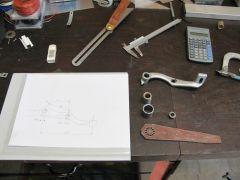 Bultaco brake pedal 001