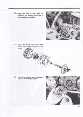Bultaco clutch spring compressor