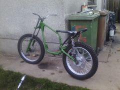 the bantam with her wheels on