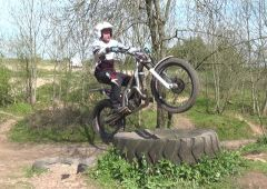 Beginner tips on riding large tyres