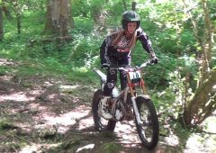 Ladies & Girls Zona Trials Championship - Day one - Section six - Rider in photo Katy Bullock - HD video below.