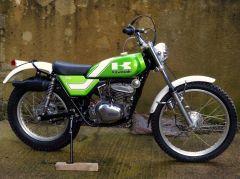 1976 Kawasaki KT250 A2