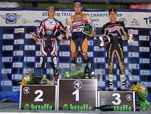 spain podium